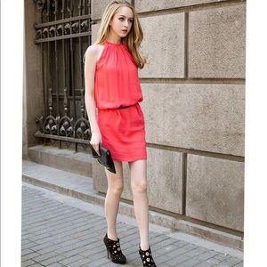 Dresses & Skirts - Cute pink shoulder-off dress
